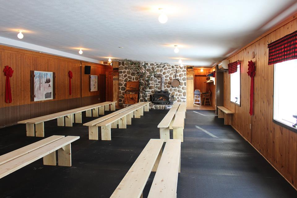 Salle pour changer patins4